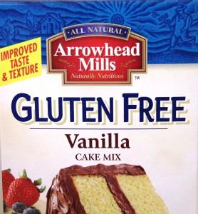 Arrowhead Mills Cake Mix